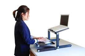 image of diy portable standing desk