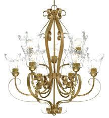 ideas gold foil chandelier and black