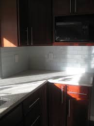 Porcelain Tile Kitchen Backsplash Porcelain Subway Tile Backsplash Home Decor