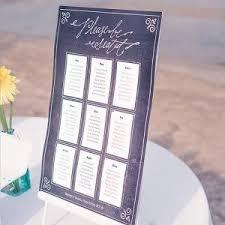 Personalized Seating Chart Chalkboard Print Design Personalized Seating Chart