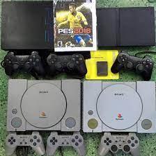 Hội mua bán các loại máy game băng 4 nút cổ và hiện đại 0909592638 - Máy  Game Đĩa Ps1 - Ps2 - Ps3  - Ps1 : + Kèm 2 tay