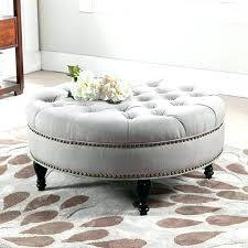 large round ottoman coffee table round ottoman table stunning large round ottoman coffee table best ideas