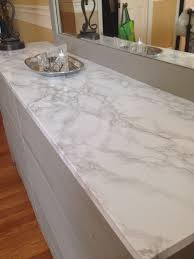 covering furniture with contact paper. Faux Marble Contact Paper Covers Damaged Dresser Top. Looks Real! Covering Furniture With