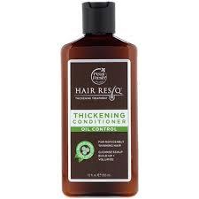 <b>Pure</b>, <b>Hair ResQ</b>, <b>Thickening</b> Treatment Conditioner, Oil Control, 12 ...