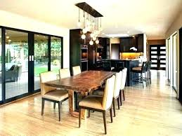 full size of chandelier height from table tabletop dining room lighting light he kitchen above hanging