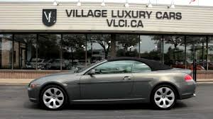 2005 BMW 645Ci Cabriolet - Village Luxury Cars Markham - YouTube
