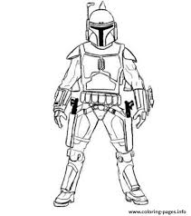 Small Picture easy boba fett star wars Coloring pages Printable