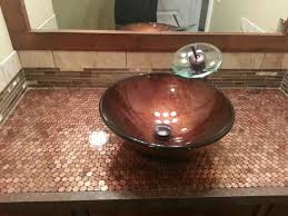image of penny bathroom countertops