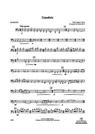 bassoon sheet music gaudete bassoon brian beck digital sheet music gustaf