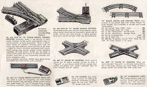 lionel electric toy train track identification guide o gauge track
