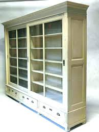 bookcases ameriwood glass door bookcase bookcases large size of cherry wood with sliding doors black