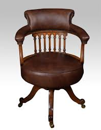 victorian office chair. victorian oak captains office desk chair antique swivel and revolving chairs