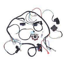 chinese atv parts complete electrics wiring harness for chinese dirt bike atv quad 150 250 300cc
