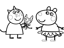 Coloring Pages Printable Peppa Pig You Wont Find Anywhereday Photo
