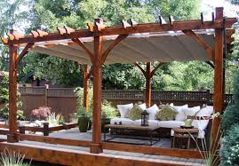 outdoor living pergola kit. outdoor living today - 12 x 16 breeze pergola with retractable canopy kit r