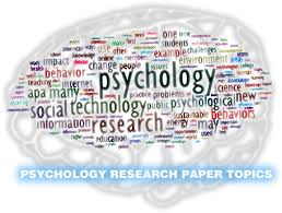 psychology research paper topics psychology
