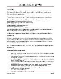 Warehouse Forklift Operator Resume Putasgae Info