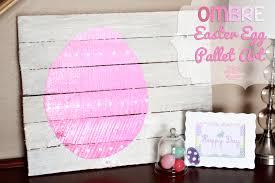 Pallet Art Easter Egg Pallet Art
