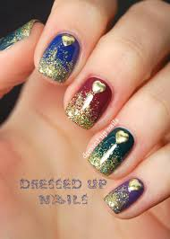Nail art glitter ~ Beautify themselves with sweet nails