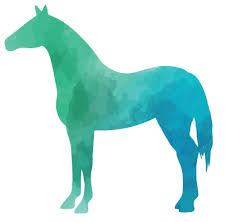 colourful horse silhouette wall sticker canvas art rocks 3 on horse silhouette wall art with colourful horse silhouette wall sticker canvas art rocks