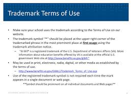 How To Make Tm Symbol Gi Bill Trademark Aveco June Ppt Download