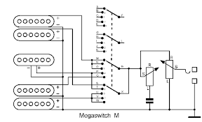 own schematic schaller Schaller 5 Way Switch Wiring Diagram 4 middle singlecoil and the neck humbucker coil closest to the neck parallel, 5 both neck humbucker coils parallel, 5-Way Strat Switch Wiring Diagram