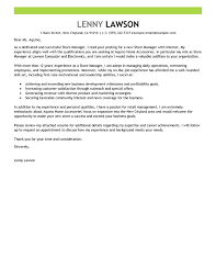 Best Store Manager Cover Letter Examples Ideas Of Sample Cover