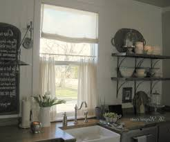 Kitchen Cafe Curtains Magnificent Cafe Curtains For Kitchen Pbh Architect
