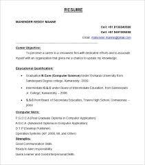Download Best Resume Format 75 Images 9 Best Free Resume