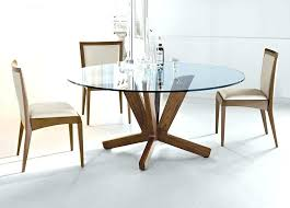 small glass dining table round glass table and chairs popular round glass dining table set round