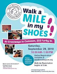 Walk A Walk A Mile In My Shoes West Broadway Community Ministry
