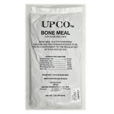 bone meal for dogs. UPCo Bone Meal 1 Lb Packet 6 Pack For Dogs