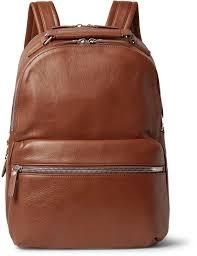 shinola the runwell full grain leather backpack
