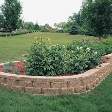 windsor block stone retaining wall