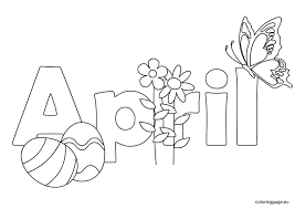 Small Picture New April Coloring Pages 52 For Coloring for Kids with April