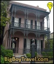garden district new orleans walking tour map. Garden District Walking Tour Map New Orleans Free Morris Israel House