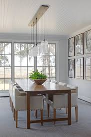 pendant lighting for dining table. A Ceiling Canopy Creates Sleek Finish For This Dining Room Pendant Lighting Installation Table O