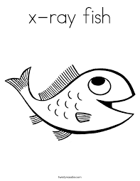 Small Picture x ray fish Coloring Page Twisty Noodle