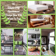 16 Simple DIY Apartment Design You Will Want To Try Wartakunet