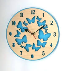 Small Picture Wall Clock Wall Clock Blue Home Accessories A Clocks A Wall