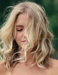 Medium Length Wavy Hairstyles 92 Amazing Shoulder Length Wavy Hairstyles Wavy LOB Hairstyle Trendy