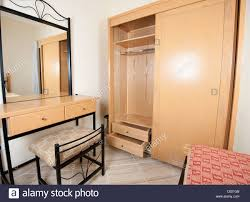 Mirror Bedroom Interior Design Dressing Table With Mirror And Wardrobe In A