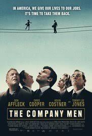 the company men 2010 imdb the company men poster