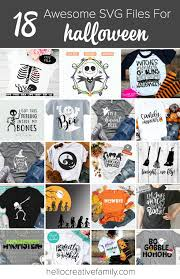 Jack skellington from the nightmare before christmas. 18 Awesome Halloween Svg Files To Cut With Your Cricut Or Silhouette