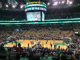 Td Garden Section Club 109 Row G Seat 12 Boston Celtics