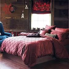 european dark red quilting tribute silk bedding sets cotton washable silk duvet cover bed sheet dark brown duvet covers dark red double duvet set dark