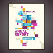 business report cover page template annual report cover free vector in adobe illustrator ai ai