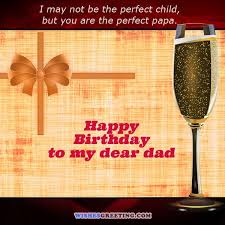 Birthday Quotes For Dad Delectable 48 Happy Birthday Dad Quotes And Wishes WishesGreeting