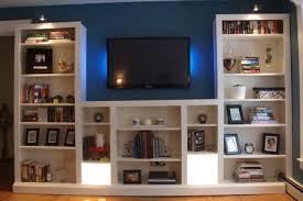 media center with bookshelves. Modren Bookshelves BILLY Media Center Hack On With Bookshelves B