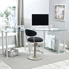 contemporary glass computer desk modern glass corner computer desk contemporary glass computer desks for home